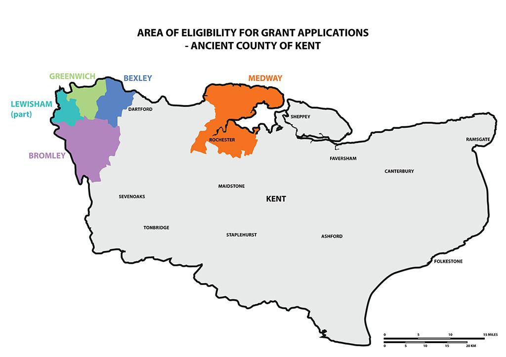Grants Map Kent