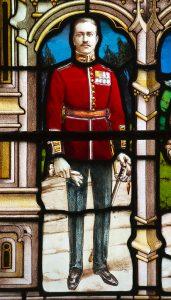 East Sutton Church – Sir Robert Filmer window detail