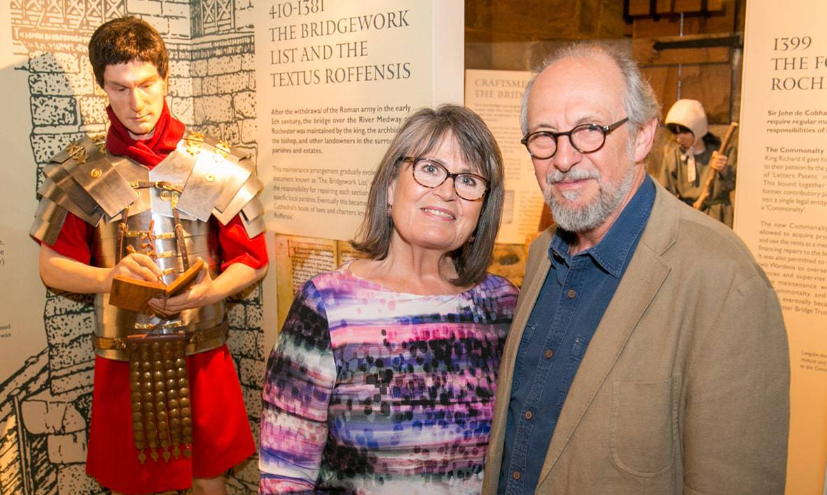 Exhibition designers Kathy and Garry Hall min 1 1