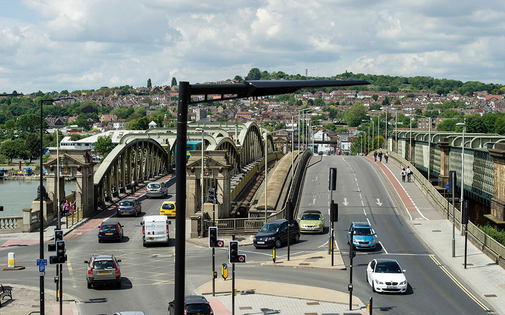 Rochester Bridges from the Guildhall 14th May 2014 ft 1
