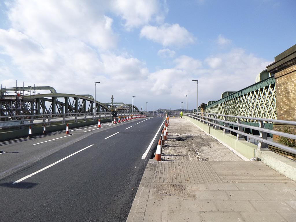 view of open bridge 1