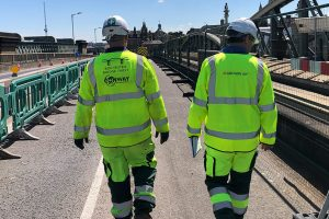 The Rochester Bridge Refurbishment Project was completed on 14th December 2020. It was marked with the illumination of the enhancement lighting on the Old Bridge